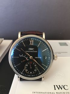 IWC - Portofino Hand-Wound 8 Days Power Reserve - IW510102 - Hombre - 2011 - actualidad