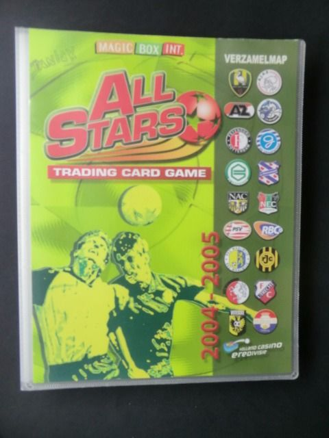 Variant of Panini - All Stars 2004/2005 - Complete album with 324 cards