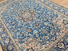 Rarity! - royal Persian KASHAN - approx. 326 x 215 cm - with certificate of authenticity - cleaned in perfect condition!