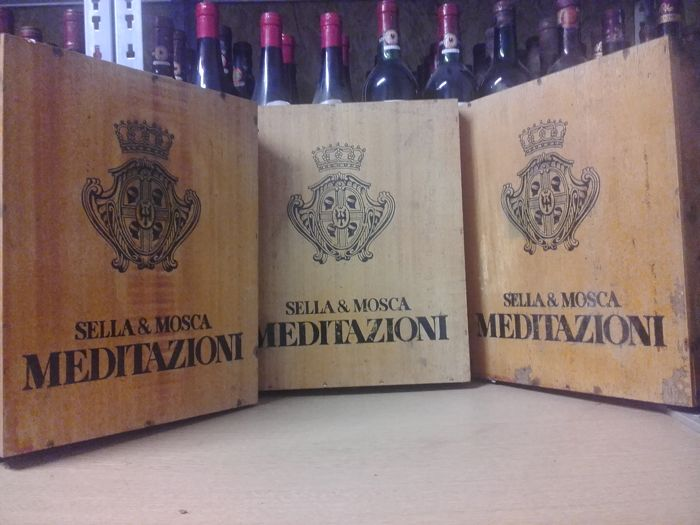 "NV Sweet Cannonau (Grenache) Wine from Sardinia - Sella & Mosca ""Anghelu Ruju"" - 9 bottles"