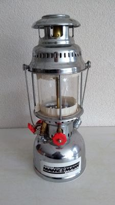 A beautiful kerosene lamp