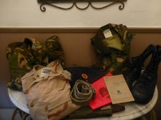Lot Militaria Koninklijke Landmacht (Dutch Royal Army)