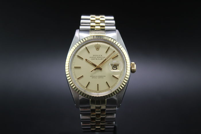 Rolex -  Oyster Perpetual Datejust - 1601 - 男士 - 1960-1969