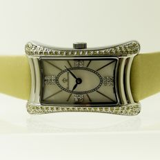 Bijou Montre Ladies watch - 5620T Yellow crystal Bezel with mother of Pearl Dial - Women - 2011-present