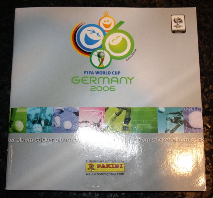 Panini - FIFA World Cup Germany 2006 - Complete mini sticker album