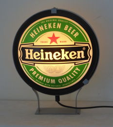 Heineken light box - second half 20th century