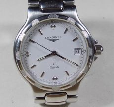 Longines Li Conquest - L1.621.4 -  Ornament Bezel - White - 1990 - Men's Wristwatch