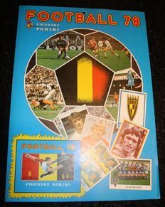 Panini - Football 78 - Belgian league - Promotion Poster