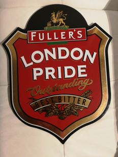 Beer sign - Fuller's London Pride - 2005