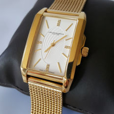 Abeler & Söhne - German Made with Swiss quartz Carree Gold + Sapphire Crystal (Men's) - *No Reserve* - 2018, New, Complete in Box