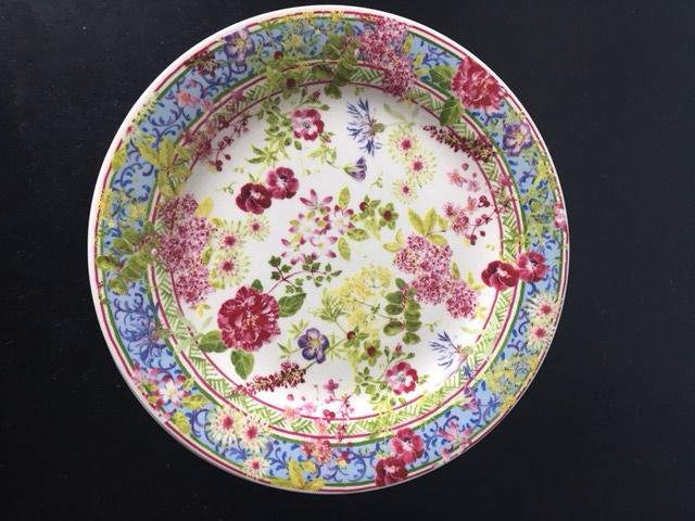 Gien - 7 small cake plates