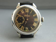 28 Billodes marriage wristwatch in silver case