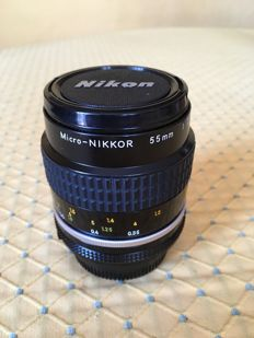 Micro-NIKKOR 55mm 1:2, 8 used on Nikon FM2