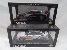 Norev - Scale 1/18 - Lot with 2x  Audi A4 DTM models