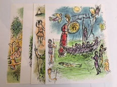 Marc Chagall - Lithogreaphs from 'Odyssey'