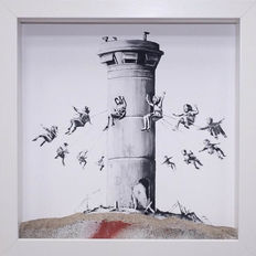 Banksy - Box Set and extras from Walled Off Hotel