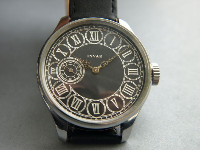 14 Invar men's marriage wristwatch 1900-1910