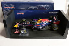 Minichamps - Scale 1/18 - Red Bull RB10 - Sebastien Vettel