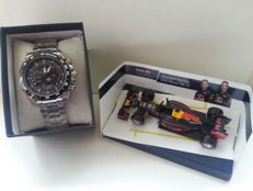Casio Edifice EF-550RBSP-1AVDRF Red Bull Racing  - 男士 - 2011至现在