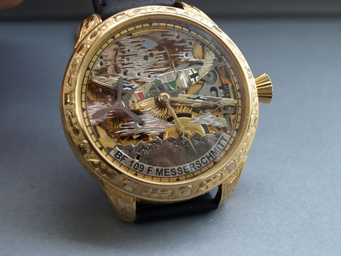 02 Omega skeleton men's marriage wristwatch 1912-1916
