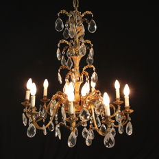 Eight-arm chandelier - Italy, first half of the 20th century