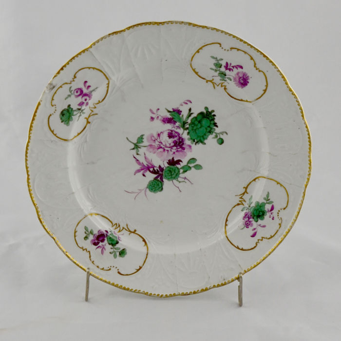 Germany Porcelain Plate of Meissen Factory – 18th Century