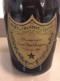 1980 Dom Perignon Vintage Brut - 1 bottle (75cl)