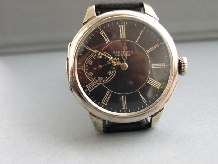 04 Faverges Geneva men's marriage watch 1900-1910
