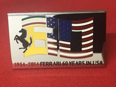 Exclusive Ferrari emblem for the 60-year anniversary in the US - 1954-2014