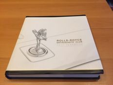 Lot of Rolls Royce books