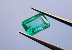 1.03 ct - Intense Green Emerald