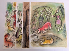 Marc Chagall - Lithographs from 'Odyssey'