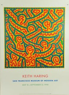 Keith Haring (after) - Exhibition graphics -
