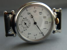 30 IWC Schaffhausen men's marriage wristwatch 1896-1897