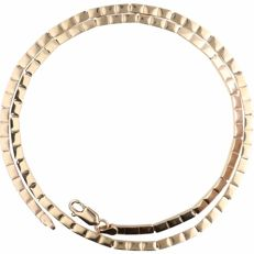 14 kt - Yellow gold, link necklace - Length: 46 cm