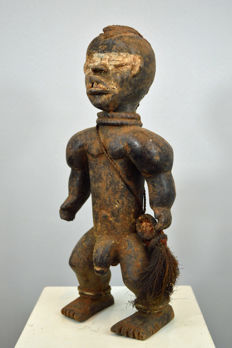 Powerful Warrior Figure - DAN - Ivory Coast