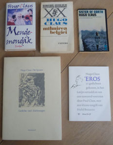 Hugo Claus; Lot with 5 translations - 1966 / 2004