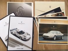 Maserati MC12 Gransport Coupe Spyder persmap LOT