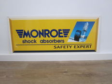Advertising sign - MONROE shock absorbers - late 20th century