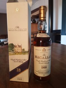 Macallan 1968 - 18 years old - bottled 1987 OB