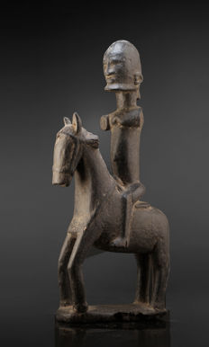 A fragmentary DOGON Horseman, Country Mali