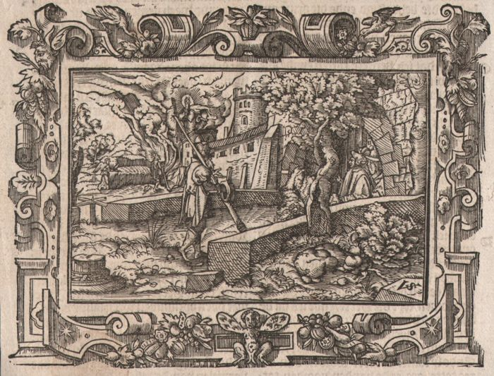 Virgil Solis ( 1514-1562 ) - Story of Amos - 1565