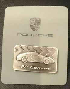 Porsche 911 Carrera Pin Badge Brooch 2017 - No Reserve Price