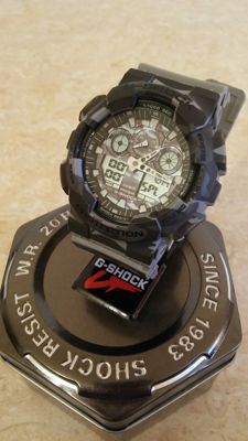 Casio G-Shock Brown Camouflage - Men's Watch - 2017