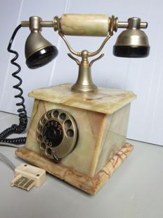 Classic marble phone,