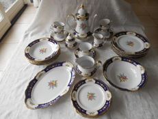 Winterling Roslau Marie Louise Kobaltblau Servies - 32x