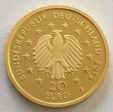 Germany - 20 Euro 2015 'German Lime Tree Forest' - 1/8 oz gold