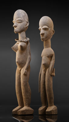 A LOBI couple, Gaoua/Kampti region