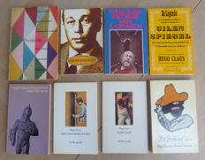 Hugo Claus; Lot with 8 plays - 1958 / 1989