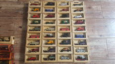 Matchbox / Days Gone - Scale 1/55-1/87 approx. - Lot with 53 models